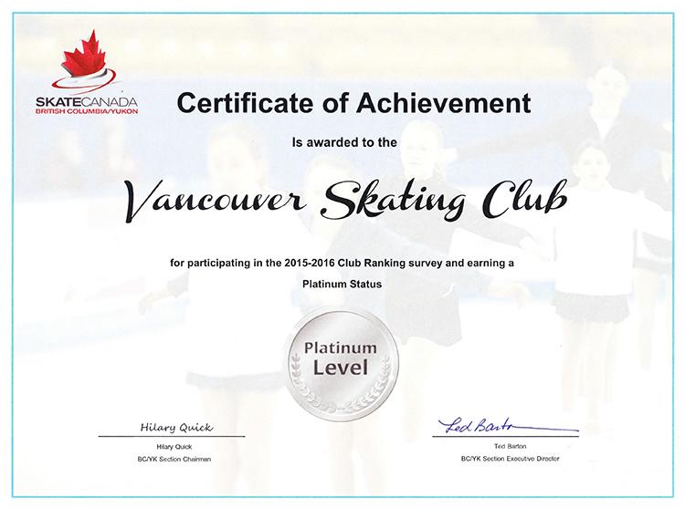 VSC Platinum Level